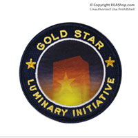 Patch, Embroidered: Gold Star Luminary Initiative