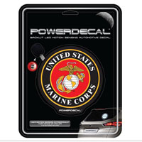 Z Decal, Light-Up Power Decal, Marine Corps