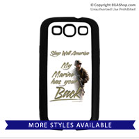 Cell Phone Cover: My Marine has your Back