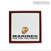Keepsake Box: The Few The Proud (4x4)