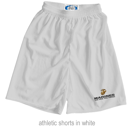 _Athletic Shorts: The Few The Proud (Unisex)