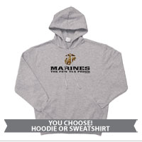 _Hoodie or Sweatshirt: The Few The Proud