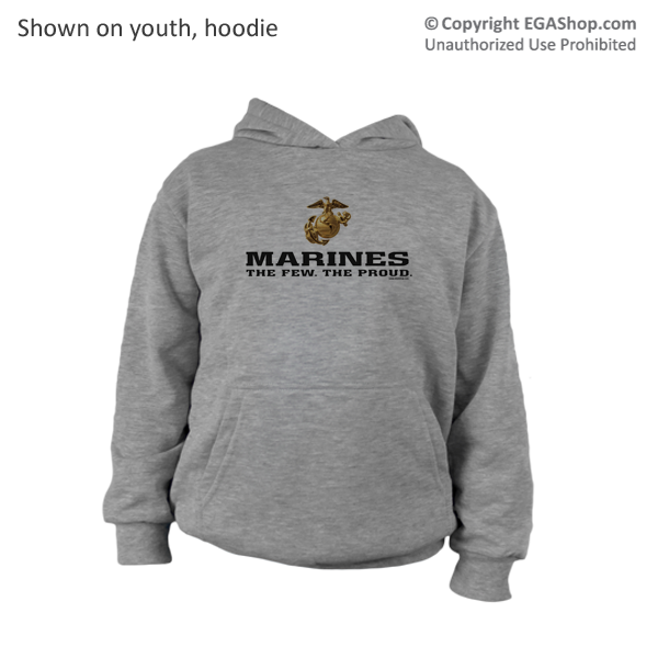 _Youth Hoodie or Long Sleeve Shirt: The Few The Proud