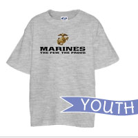 _T-Shirt (Youth): The Few The Proud