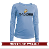 _Long Sleeve Solar Shirt (Ladies): The Few The Proud