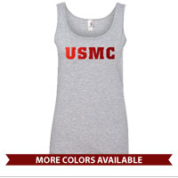 _Ladies Tank Top: USMC