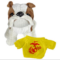 Bull Dog, Plush (t-shirt): EGA Solo