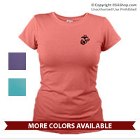 _T-Shirt (Ladies): EGA Solo