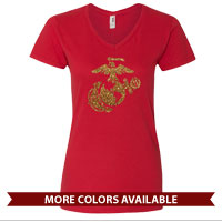 _Ladies V-Neck: EGA Solo