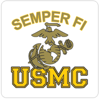 You Save! Overstock: Semper Fi - EGA - USMC