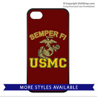 Cell Phone Cover: Semper Fi (EGA) USMC