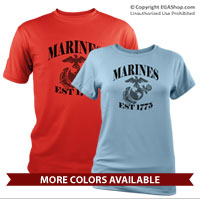 _Performance Shirt: Marines Est 1775