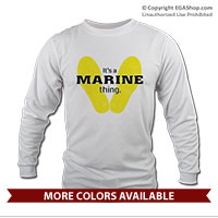 _Long Sleeve Shirt (Unisex): Yellow Footprints