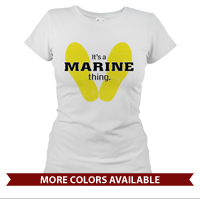 _T-Shirt (Ladies): Yellow Footprints (Short Sleeve)