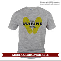 _T-Shirt (Unisex): Yellow Footprints (Short Sleeve)