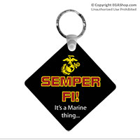 Key Chain: Semper Fi, It's a Marine Thing