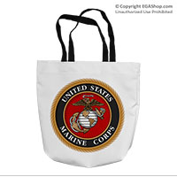 Tote Bag: Marine Corps Seal
