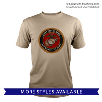 _Performance Shirt: Marine Corps Seal
