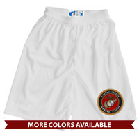 _Athletic Shorts: Marine Corps Seal (Unisex)