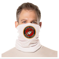 Gaiter Face Covering: Marine Corps Seal