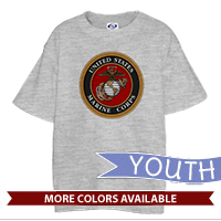 _T-Shirt (Youth): Marine Corps Seal