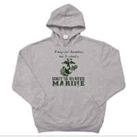 _Hoodie: I may look harmless... -EGA (Unisex)