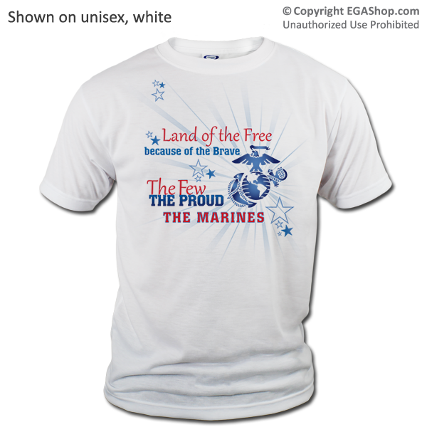 _T-Shirt (Unisex): Land of the Free