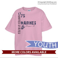 _T-Shirt (Youth): 1775 US Marines
