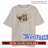_T-Shirt (Youth): Semper Fi 'Til I Die