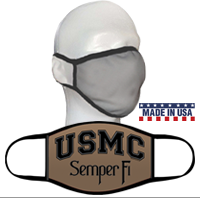 Face Covering: USMC Semper Fi