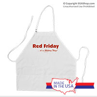 Apron: Red Friday