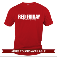_T-Shirt (Cotton): Red Friday