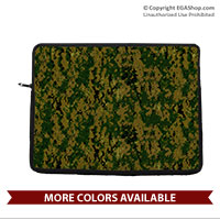 Laptop/Tablet Sleeve: Digital Camo Print