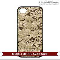 Cell Phone Cover: Digital Camo Print