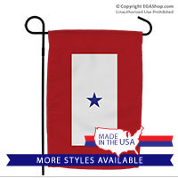 Garden Flag: Blue Star Banner