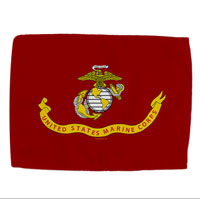 Car Flag: Likeness of the Marine Corps Flag