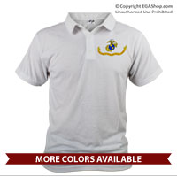 _Polo (Unisex): Likeness of the Marine Corps Flag