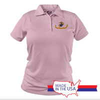 _Polo (Ladies): Likeness of the Marine Corps Flag