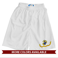 _Athletic Shorts (Unisex): Likeness of the Marine Corps Flag