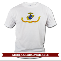 _T-Shirt (Unisex): Likeness of the Marine Corps Flag