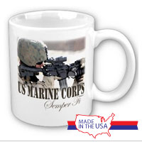 Ceramic Mug: Every Marine a Rifleman (Customizable)
