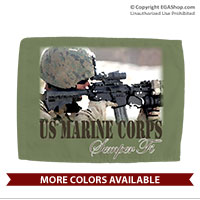 Car Flag: Every Marine a Rifleman