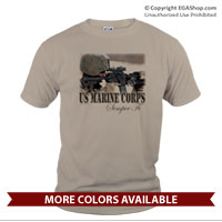 _T-Shirt (Unisex): Every Marine a Rifleman (Short Sleeve)