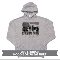 _Sweatshirt or Hoodie: Every Marine a Rifleman