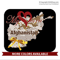 Mousepad: My Heart is in Afghanistan