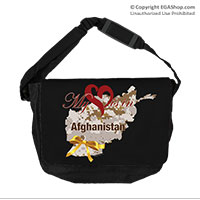 Messenger Bag: My Heart is in Afghanistan