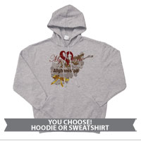 _Sweatshirt or Hoodie: My Heart is in Afghanistan