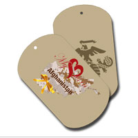 Dog Tag Set: My Heart is in Afghanistan