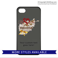 Cell Phone Cover: My Heart is in Afghanistan