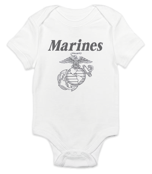 _T-Shirt/Onesie (Toddler/Baby): Line-Drawn EGA